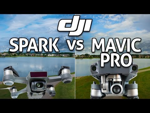 DJI Spark Vs Mavic Pro Review Comparison